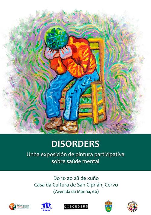 Exposición Disorders, del 10 al 28 de junio en Cervo