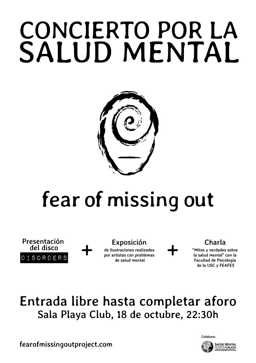 Concierto por la salud mental en A Coruña